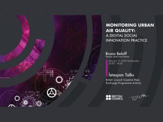 Istasyon Talks – Monitoring Urban Air Quality As A Digital Social Innovation Practice