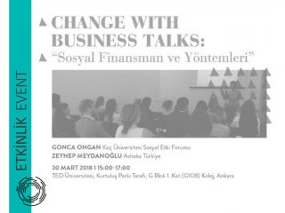 Change with Business Talks – Social Finance