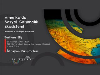 Istasyon Talks: Social Entrepreneurship Ecosystem in the United States